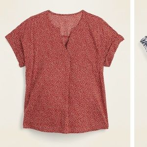 NWT old navy envelope blouse